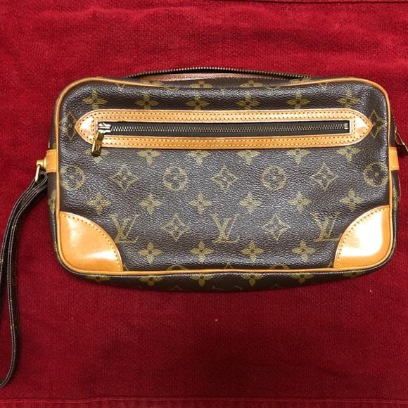 49ee47b9c560 Louis Vuitton Handbags - Louis Vuitton Marly Dragonne Monogram Gm Wristlet